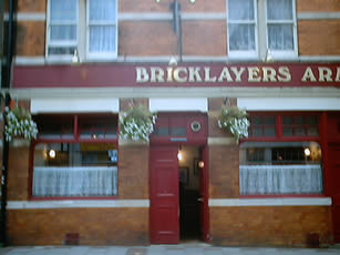 The Bricklayers Arms 1984 to Present