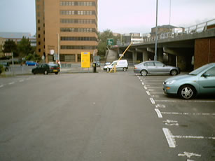 Site of band stage at Luton Carnival 1979-1982