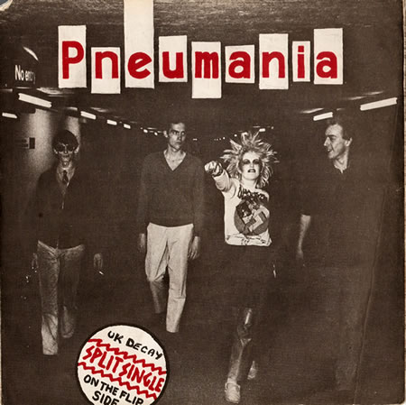 The Split Single, Pneumania side