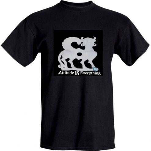 Ella Jo 'Attitude Is Everything' Black T-Shirt