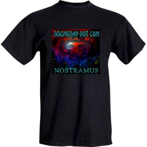Nostramus - 'Doomsday Dot Com' in Black front
