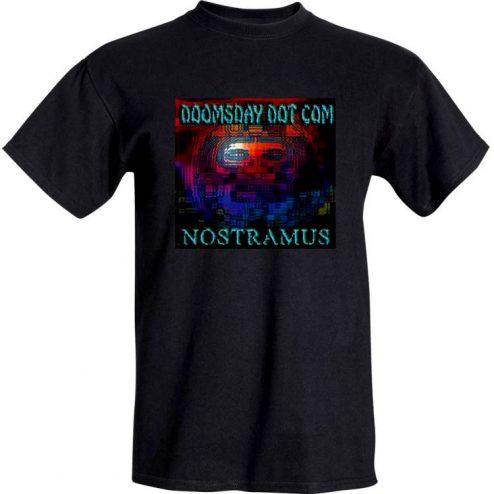 Nostramus - 'Doomsday Dot Com' in Black front
