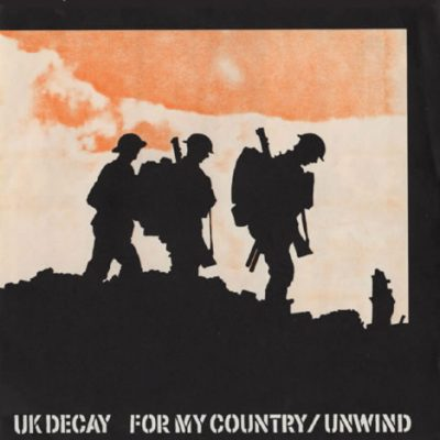 For My Country DK 1983 on UK Decay Records