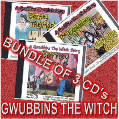 Gwubbins The Witch 3 Set Bundle
