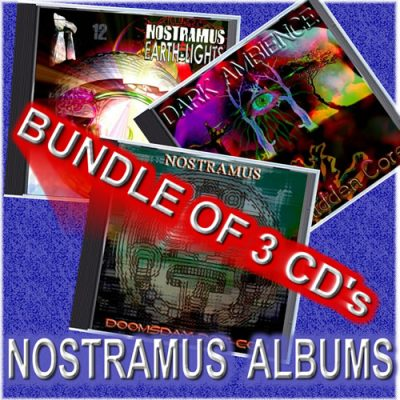 Nostramus Three CD Album Bundle