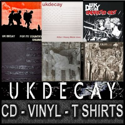 UK Decay Merchandise