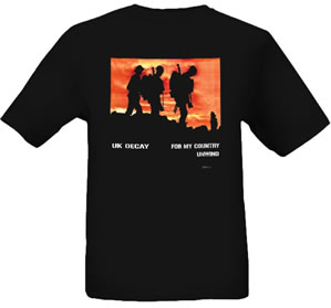 'For My Country' T Shirt - Black