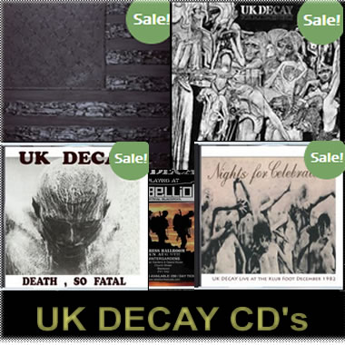 UK Decay CD