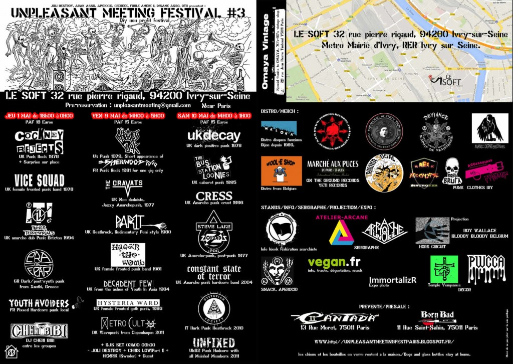 Full UP Fest in Paris with information