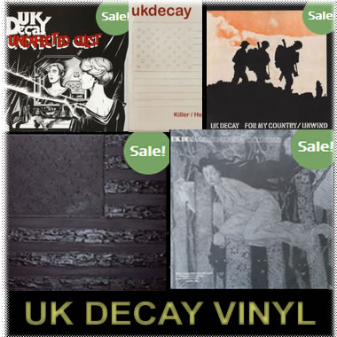 Available UK Decay Vinyl Product